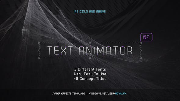 TypeX - Pure Pack: Title Animation Presets Library
