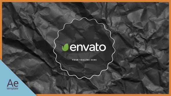 Thumbnail for Logo en papier noir