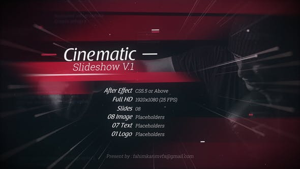 Thumbnail for Cinematic Slideshow V.1