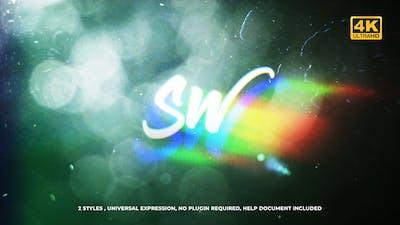 Flare Glitch Logo
