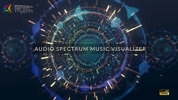 Thumbnail for Audio Spectrum Music Visualizer