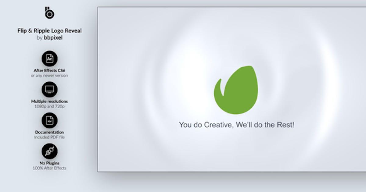 Download Flip & Ripple Logo Reveal by bbpixel