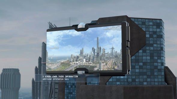 Thumbnail for Futuristic City Slideshow