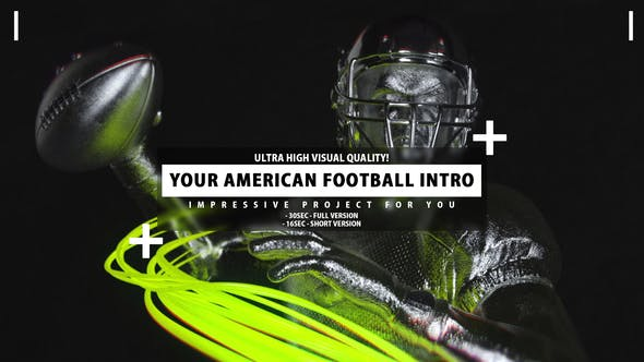 Thumbnail for Your American Football Intro