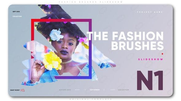 Cover Image for Fashion Brushes Slideshow