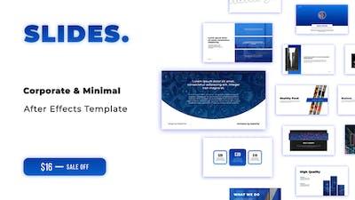 Slides. - Corporate Slides for After Effects