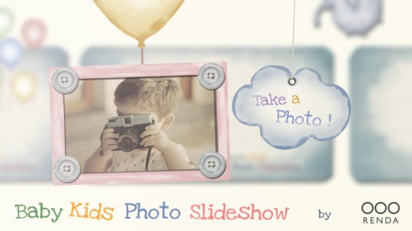 Thumbnail for Baby Kids Photo Slideshow
