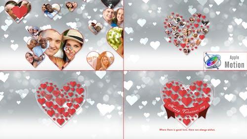 Romantic Hearts Opener - Apple Motion
