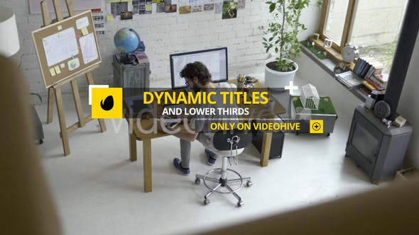 Thumbnail for Dynamic Titles and Lower Thirds