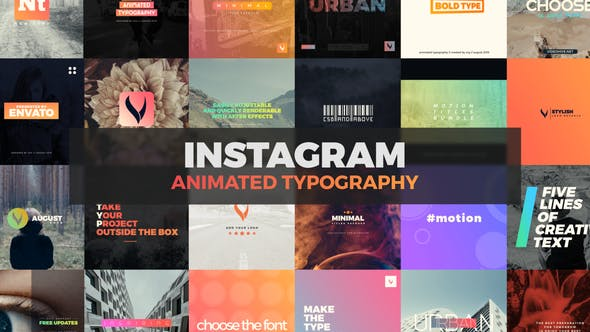 Thumbnail for Instagram Typography