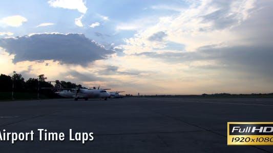 Thumbnail for Flughafen Zeitraffer