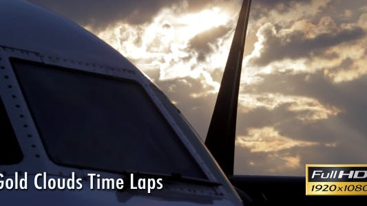 Thumbnail for Gold Clouds Time Lapse
