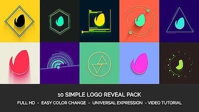 Simple Logo Reveal Pack Mogrt
