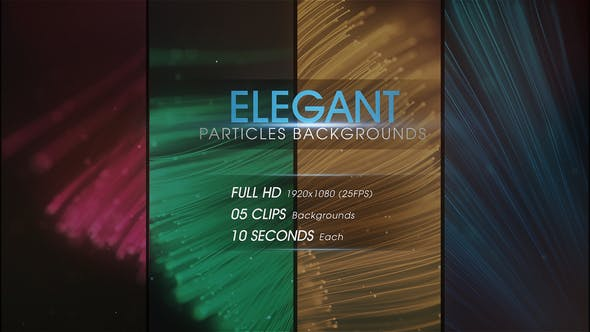 Thumbnail for Elegant Particles Backgrounds