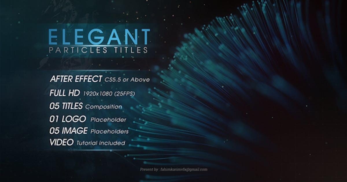 Download Elegant Particles Titles by geolabdesigns_v1
