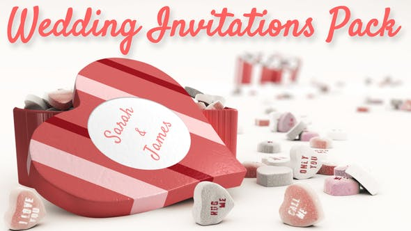 Cover Image for Wedding Invitations Pack