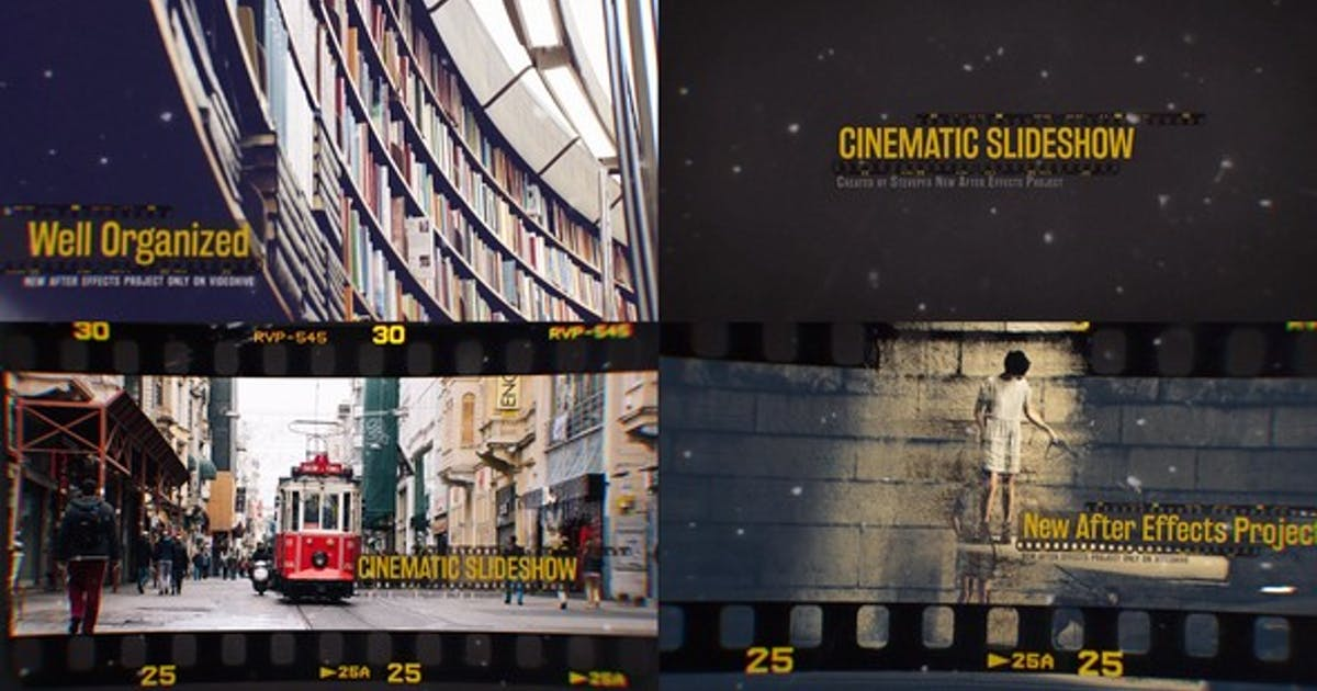 Download Cinematic Slideshow by stevepfx