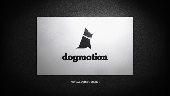 Business Card - Corporate Logo Reveal