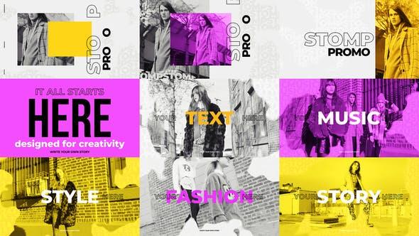 Thumbnail for Stomp Promo - Fashion Intro