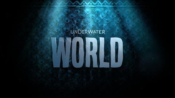 Thumbnail for Cinematic Drama Trailer - Underwater World