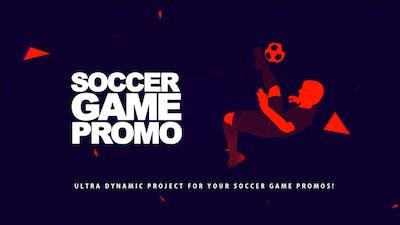 Soccer Game Promo