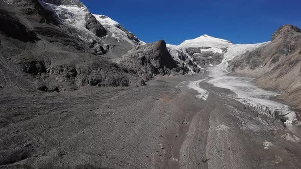 Thumbnail for Aerial of Grossglockner Glacier, Austria