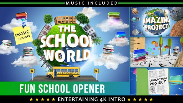 Thumbnail for School Education Kids Intro