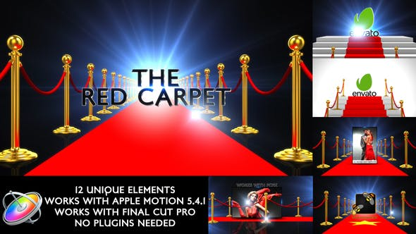 Thumbnail for Pack Promo Tapis Rouge - Apple Motion
