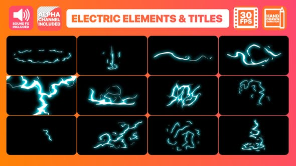 Thumbnail for Flash FX Electric Elements And Titles
