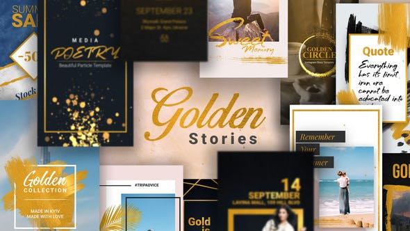 Thumbnail for Golden Stories // Animated Stories for Instagram