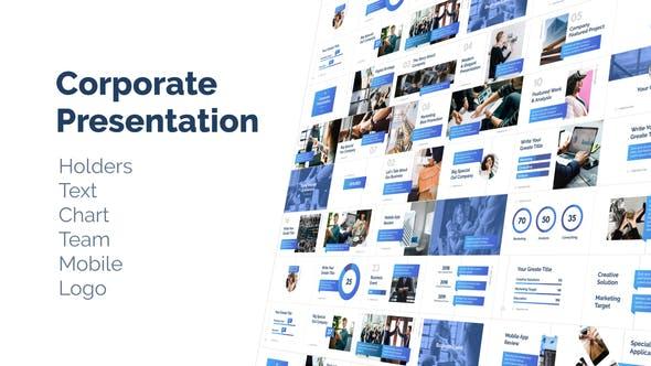 Conjunto de Presentación corporativa