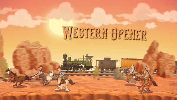 Thumbnail for Western Opener  | After Effects Template