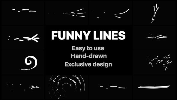 Flash FX Funny Lines