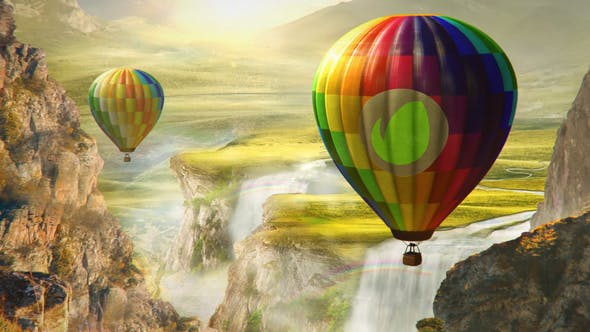 Thumbnail for Hot Air Balloon Logo
