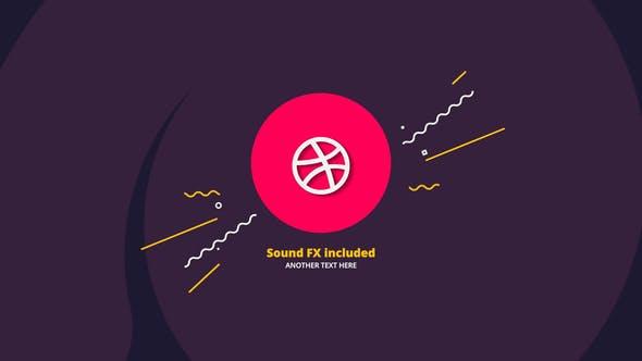 Thumbnail for Flat Logo Intro