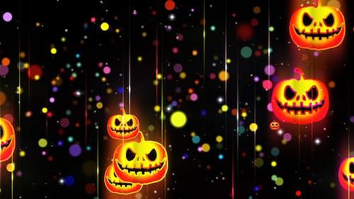 Хэллоуин неоновый фон 2