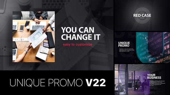 Thumbnail for Unique Promo v22 | Corporate Presentation