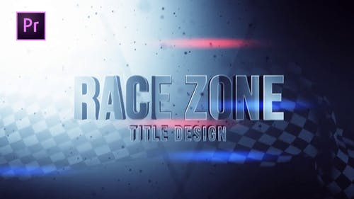 Race Zone Title Design