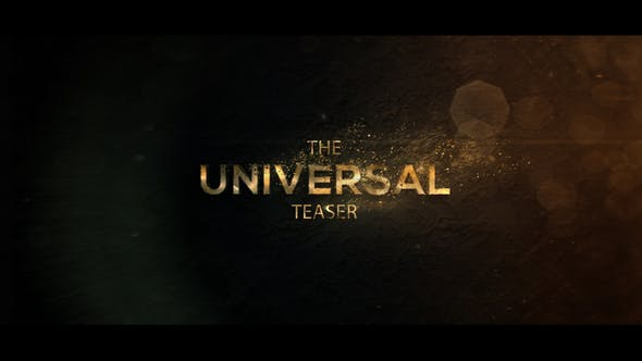 Thumbnail for Universal Cinematic Teaser