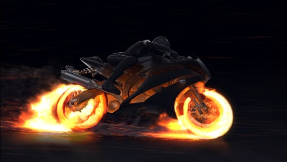 Thumbnail for Motorcycle Fire Reveal