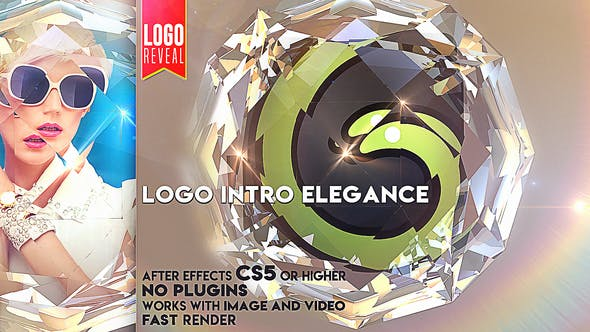 Thumbnail for Logo Intro Elegance