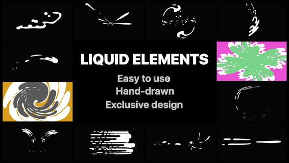 Thumbnail for Liquid Motion Elements And Transitions