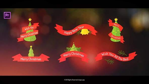 Thumbnail for Christmas Titles for Premiere Pro