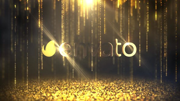 Logo Reveal Glitter