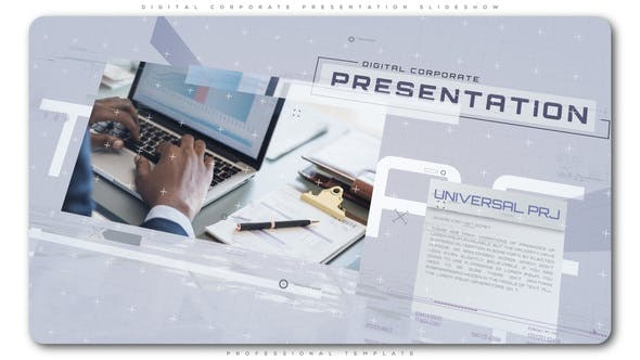 Cover Image for Digital Corporate Presentation Slideshow