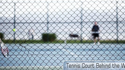 Thumbnail for Tennis Court Behind The Wires