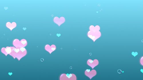 Clean Floating Hearts