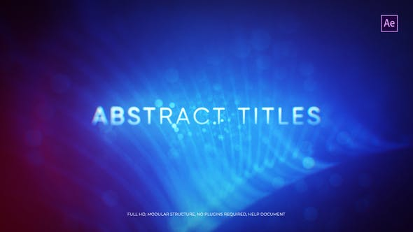 Thumbnail for Abstract Titles