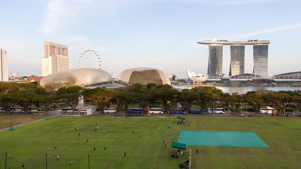 Thumbnail for Singapore Sports Field in Downtown