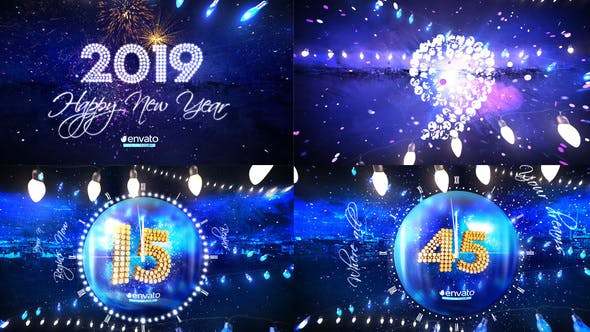 Thumbnail for New Year Eve Party Countdown 2019